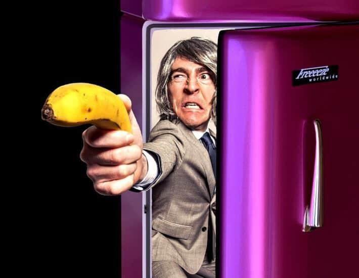 Człowiek w lodówce