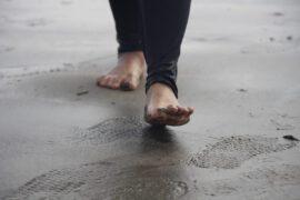 Mężczyzna na plaży