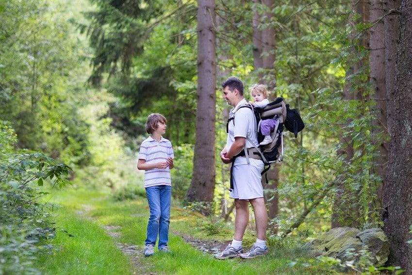 Nosidełka turystyczne, czyli przepis na rodzinne wakacje