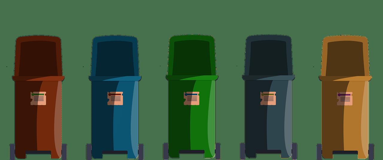 segregacja śmieci a bycie Eeko