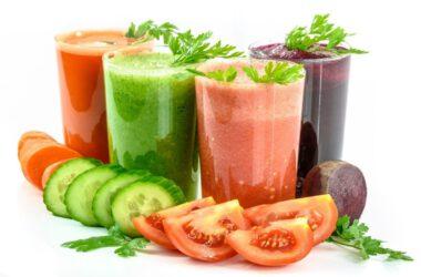 owocowo-warzywne koktajle