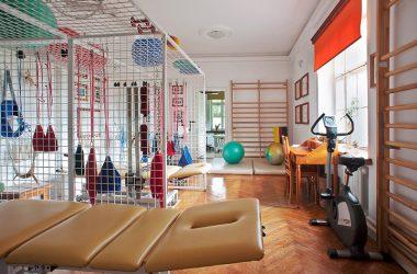 Wnętrze kliniki rehabilitacyjnej