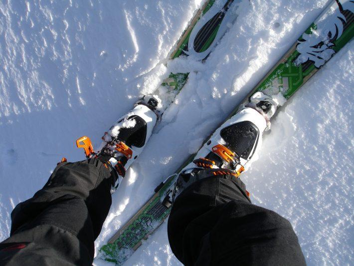 Jeżdżenie na nartach