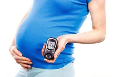 Kobieta z cukrzycą ciążową