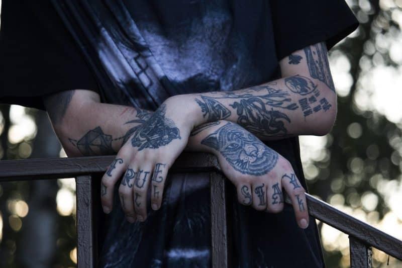 tatuaz kot
