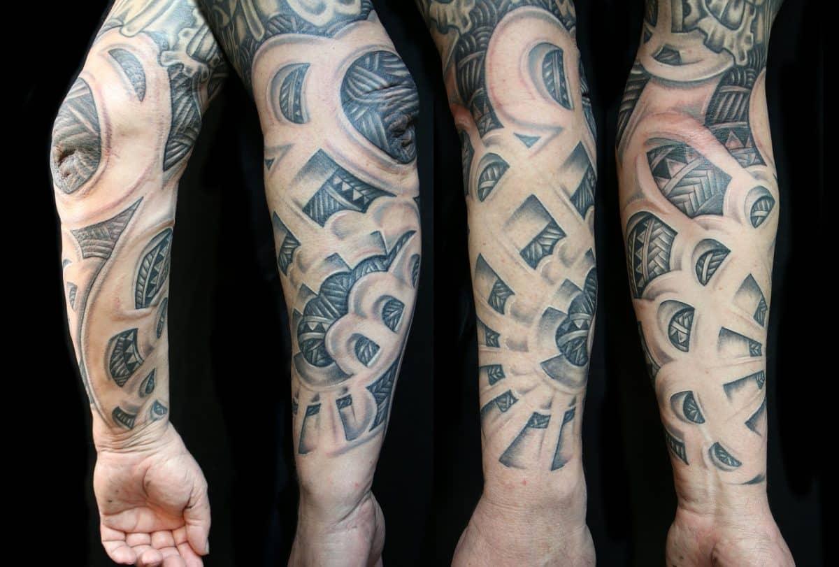 Tatuaże rękawy - jakie wzory dla Niej, a jakie dla Niego?