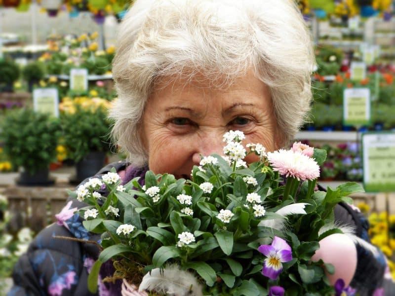 Kobieta w starszym wieku