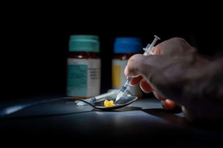 Uzależniony od narkotyków