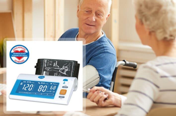Ciśnieniomierz dla seniorów