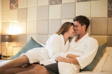 Para nie posiadająca problemów w łóżku