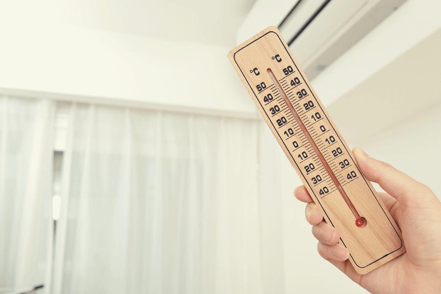 Urządzenia obniżające temperaturę wewnątrz budynku