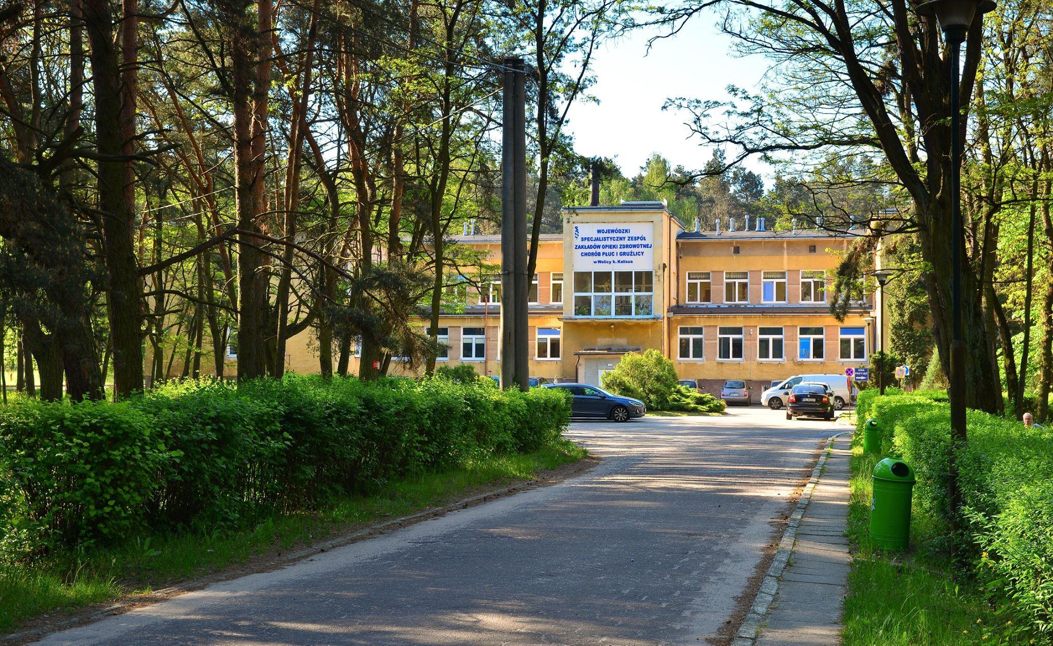budynek Wojewódzki Specjalistyczny ZZOZ Chorób Płuc i Gruźlicy w Wolicy