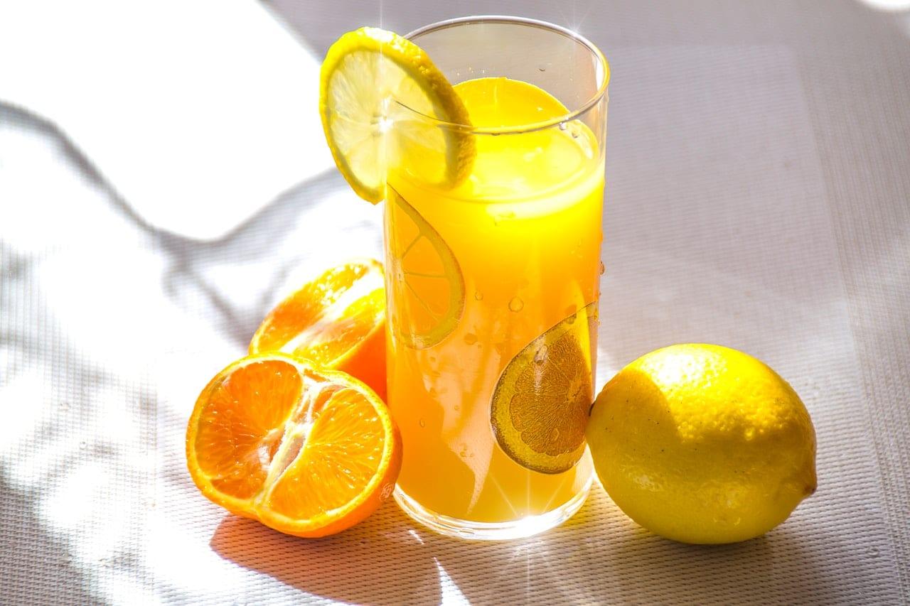 Pomarańczowa lemoniada