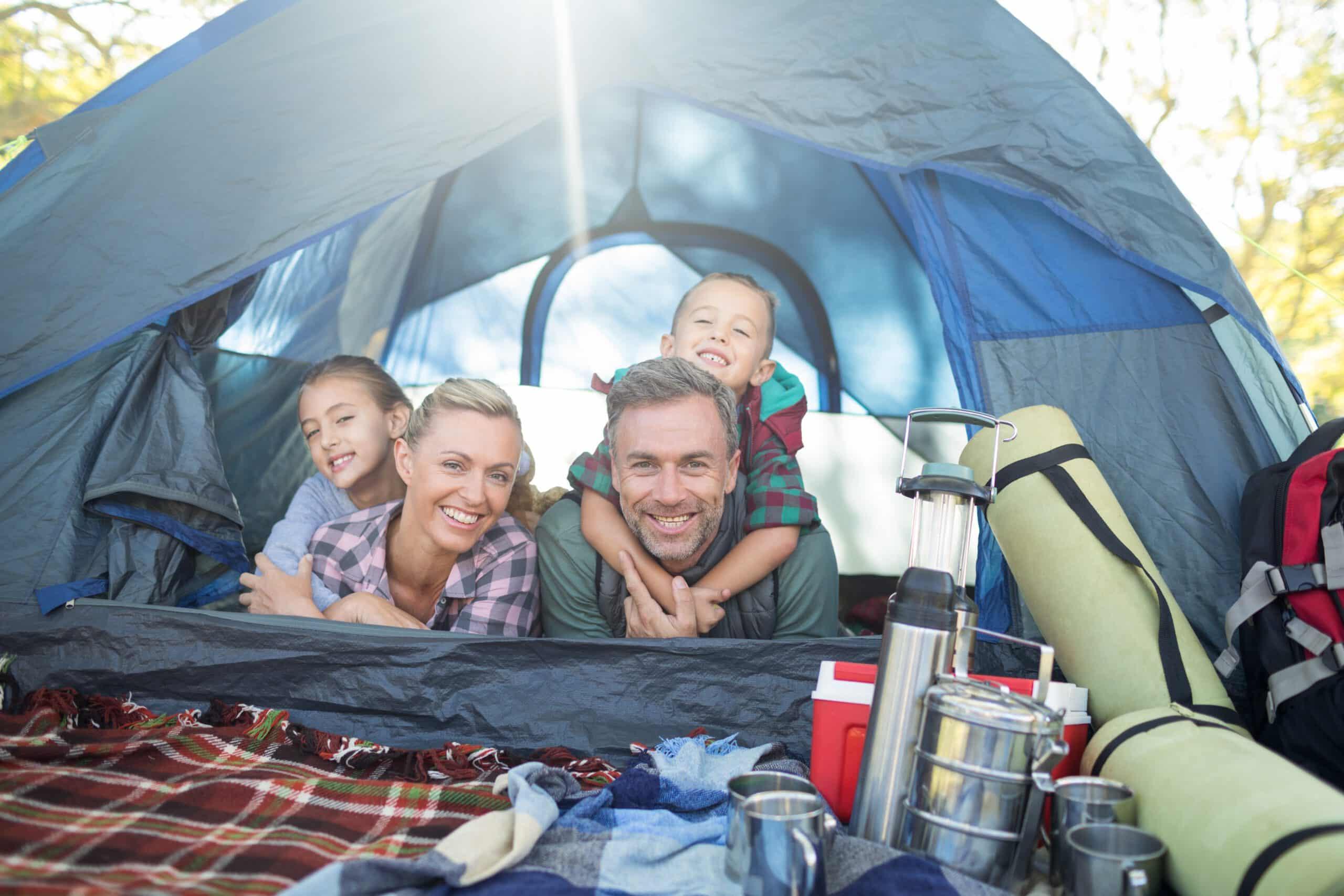 Rodzinnie pod namiot