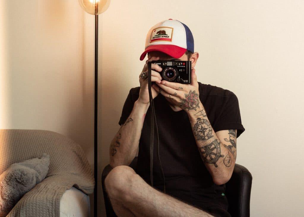 Tatuaż u fotografa