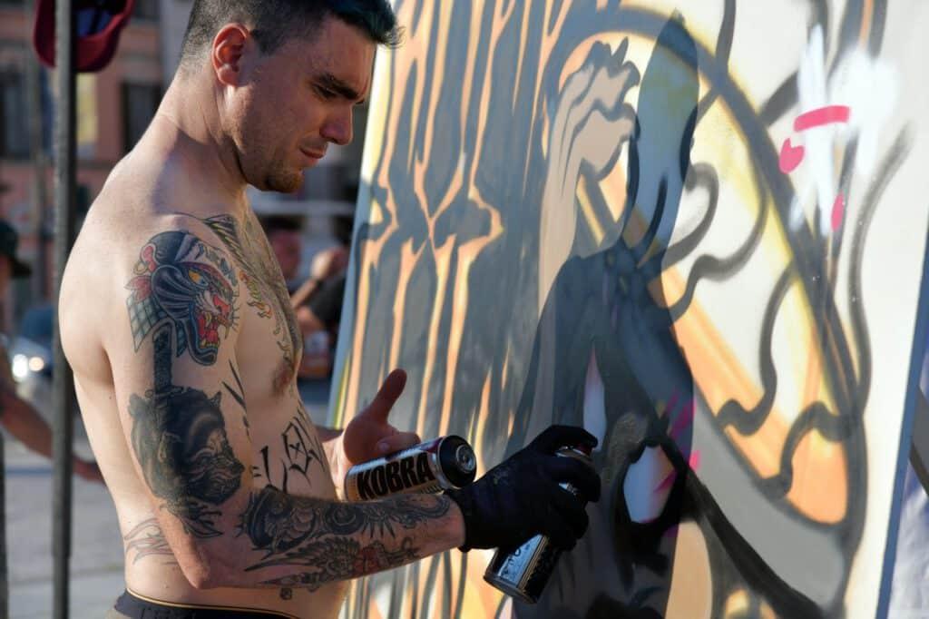 Tatuaże męskie na ciele