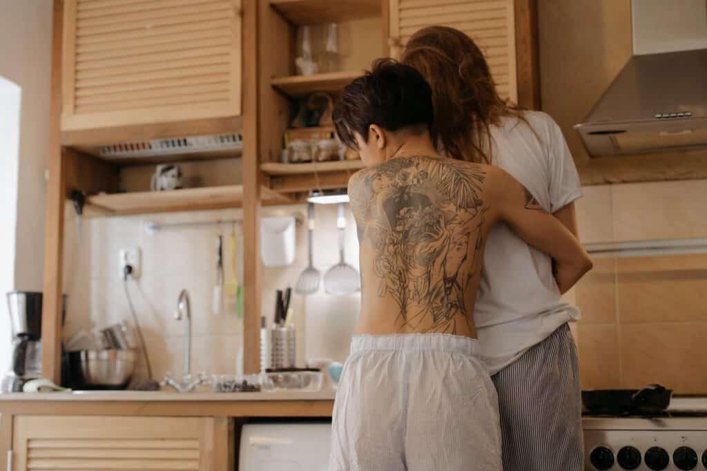 Męskie tatuaże na plecach