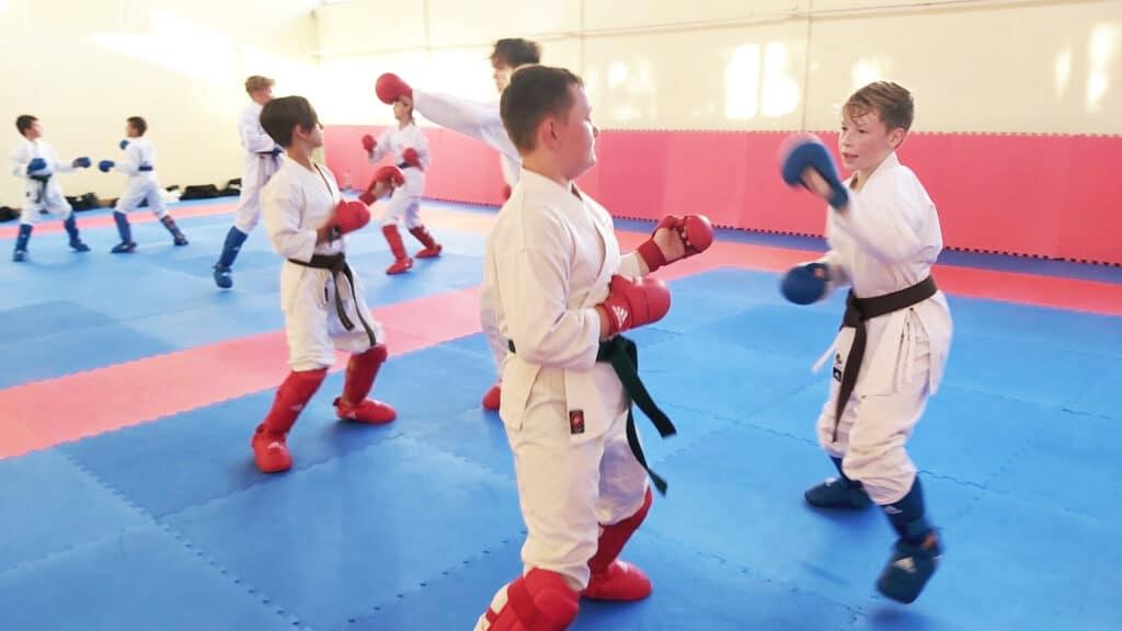 Spędzanie wolnego czasu ćwicząc sztuki walki