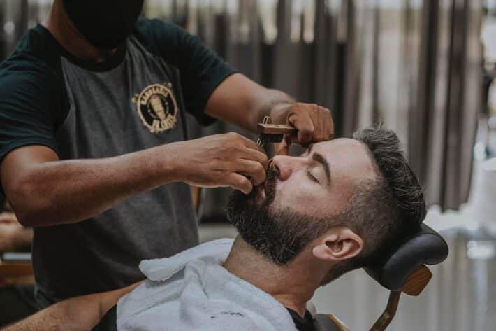 stylizacja brody u barbera