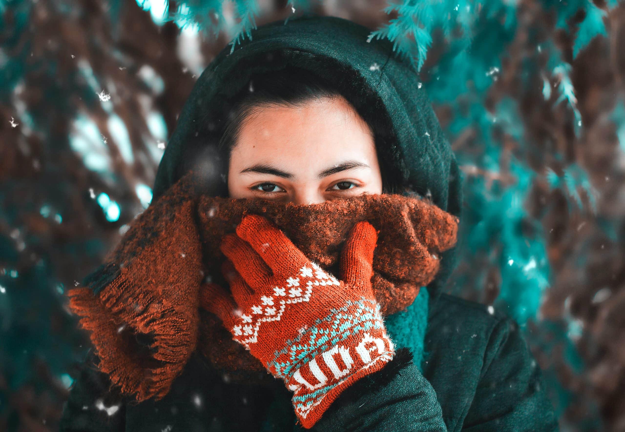 Kominy jako maseczki - nowy sposób zasłaniania nosa i ust