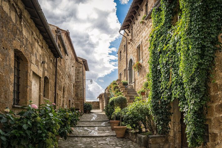 uliczka we Włoszech