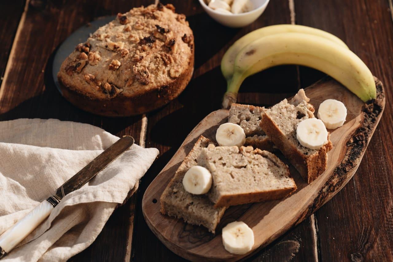 Chleb z bananów ile kalorii
