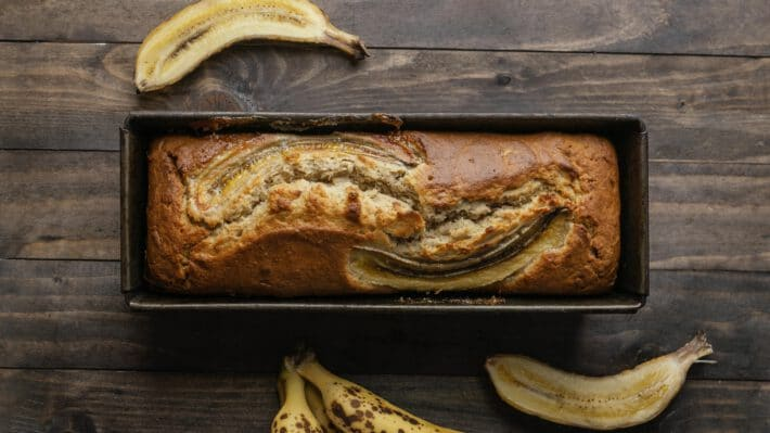 Chlebek bananowy w wersji fit