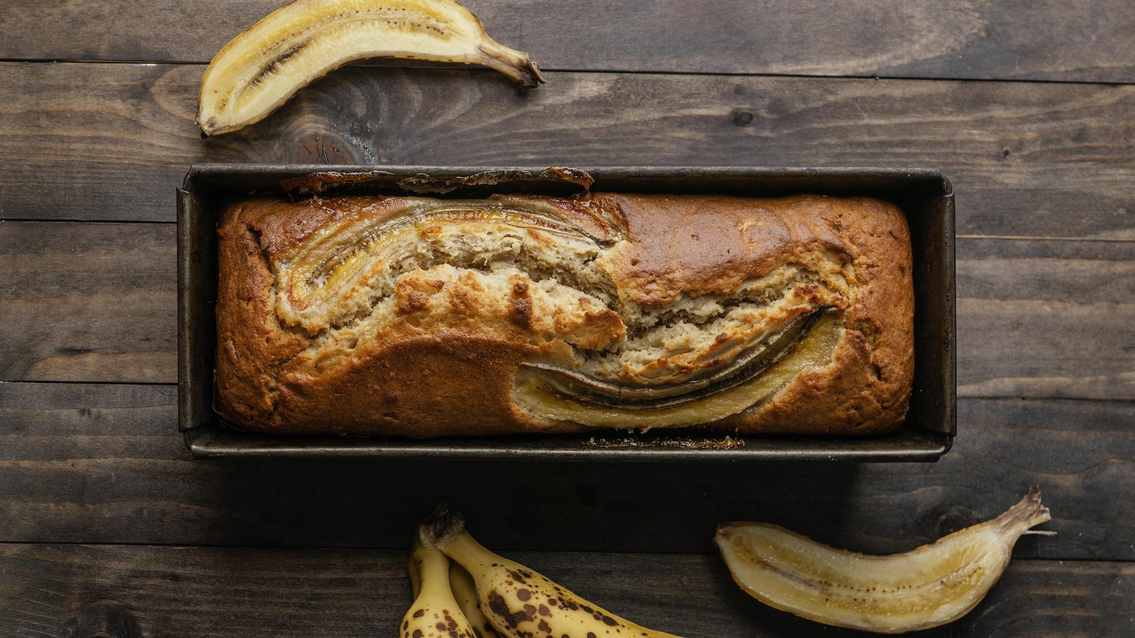 Wypróbuj zdrowy chlebek bananowy fit bez cukru!
