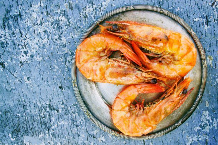 Owoce morza na diecie białkowej