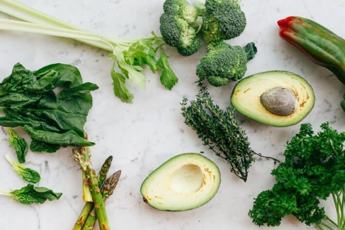 Zielone warzywa w diecie trzustkowej