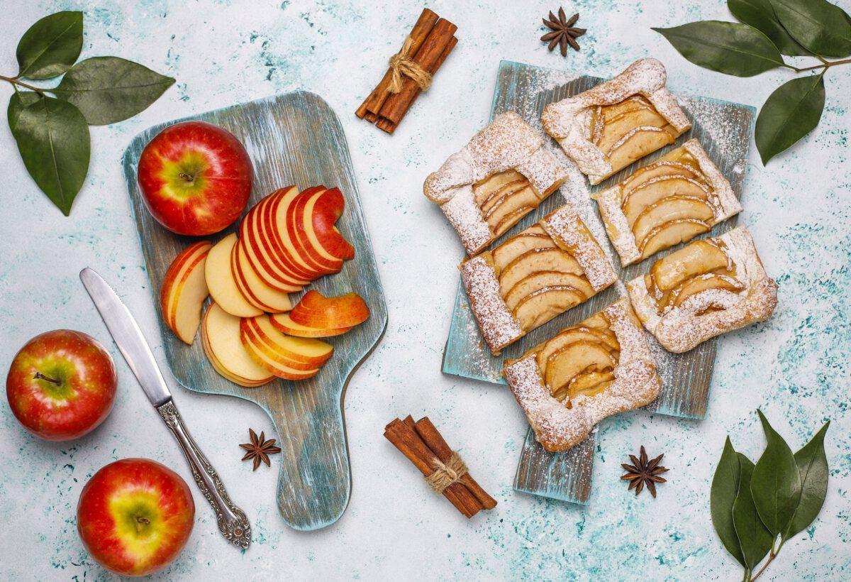 Pieczone jabłko z cynamonem w diecie DASH
