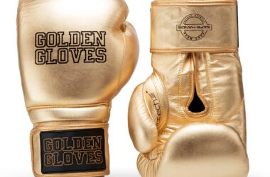 złote rękawice bokserskie