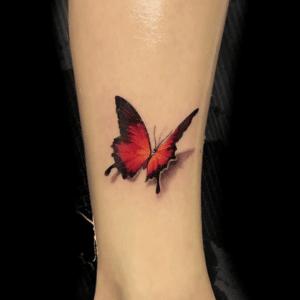 Tatuaż motyl w 3d