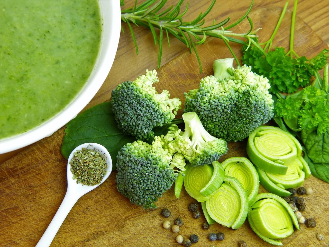 Warzywa nadające się do zupy krem w diecie zupowej