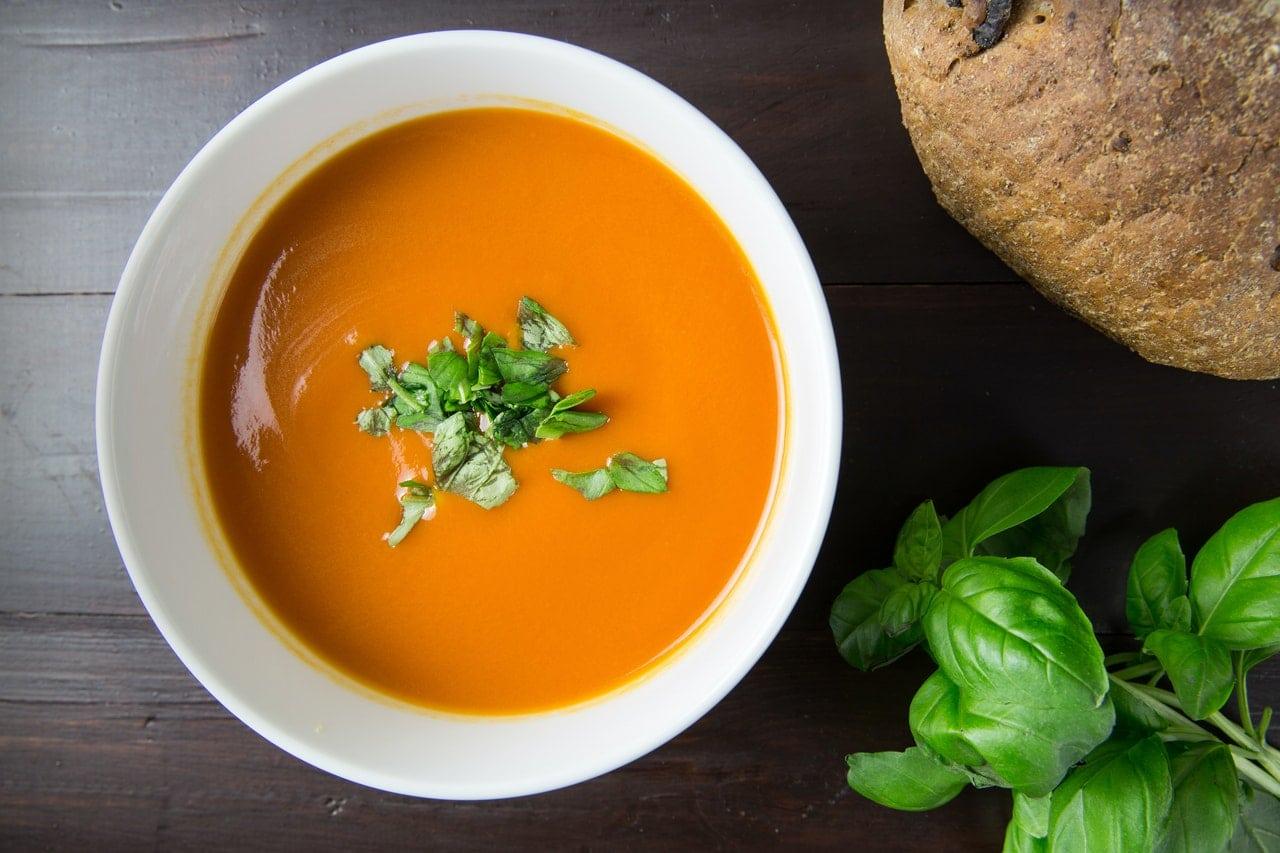 Zupa pomidorowa krem na diecie niskowęglowodanowej