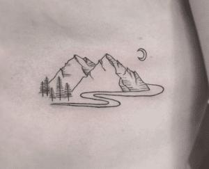 Tatuaże góry