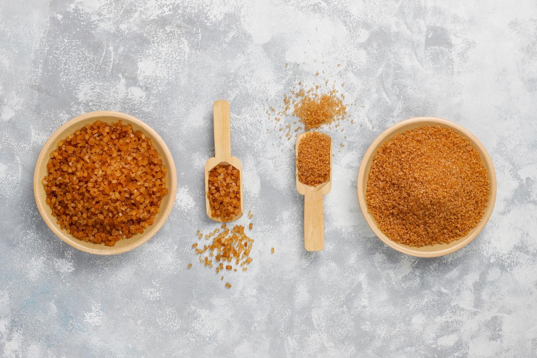 Cukier trzcinowy i brazowy