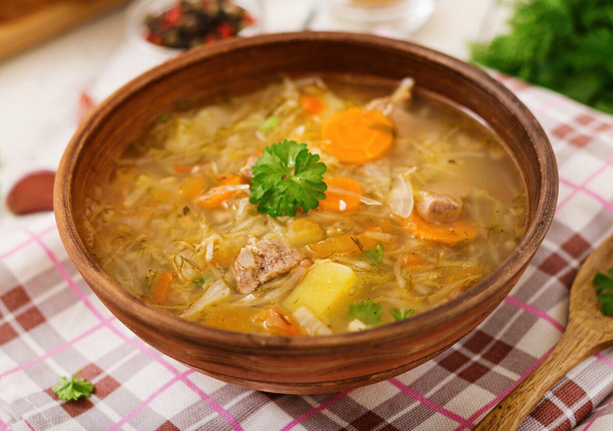 Zupa kapuściana w diecie Kwaśniewskiego