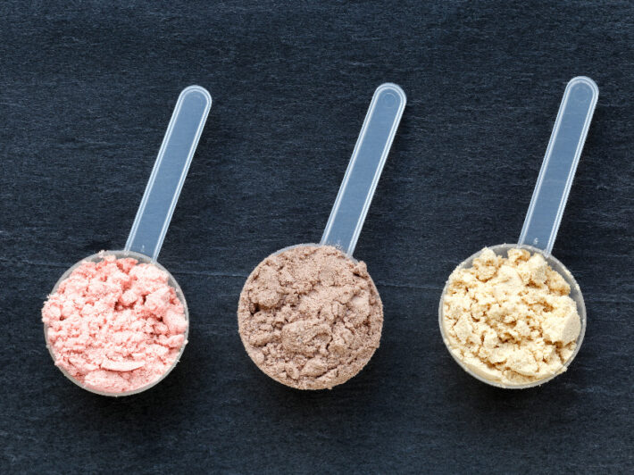 odżywki białkowe.
