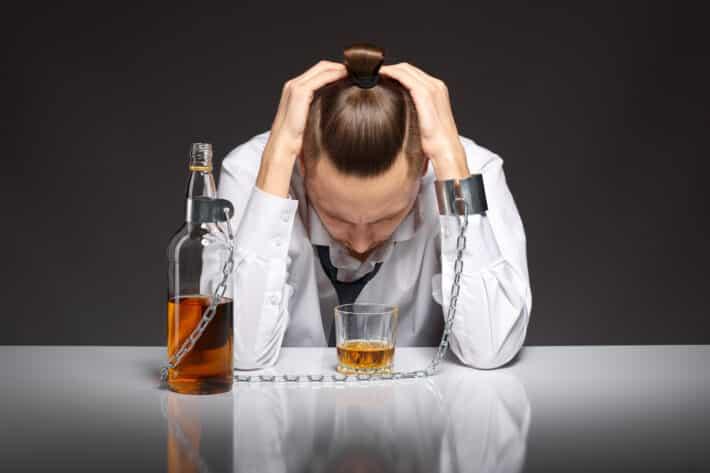 Uzależnienie od alkoholu.