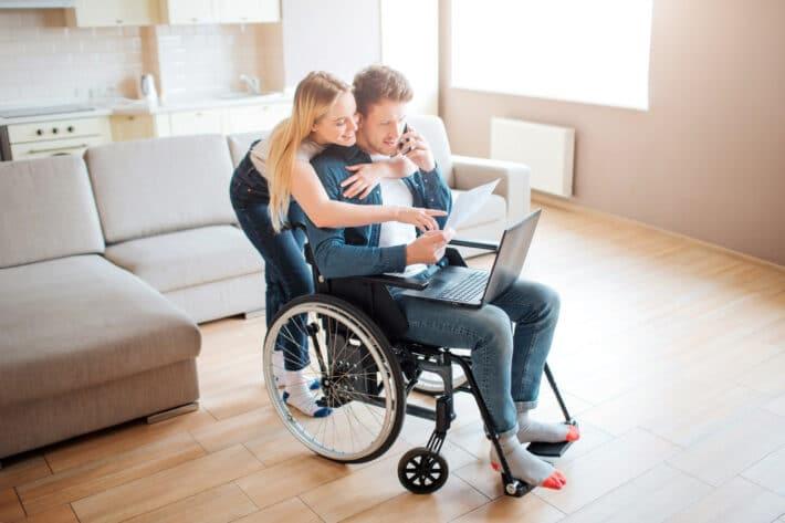 Osoba z grupą inwalidzką