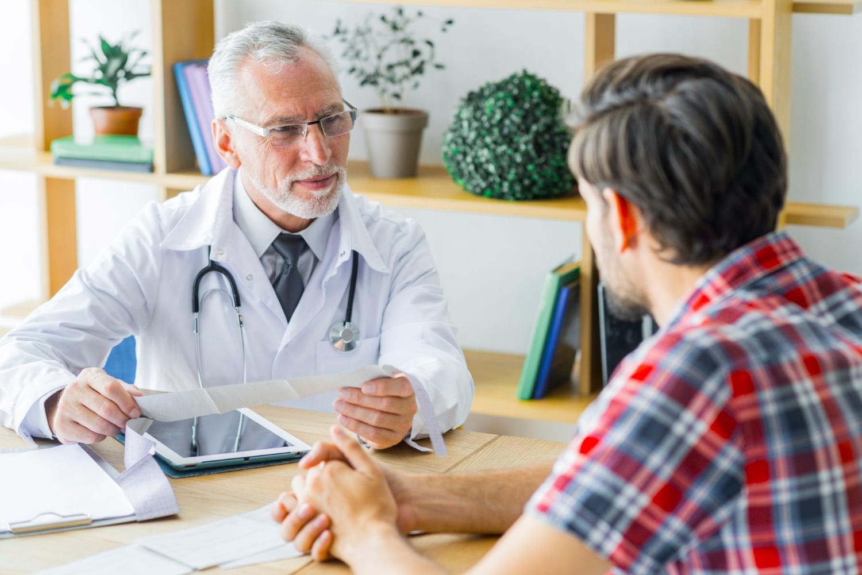 Konsultacja z lekarzem w związku z grzybicą penisa