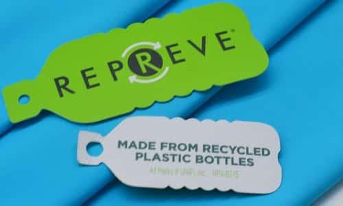 Metki do ubrań ktre powstaja z plastikowych butelek