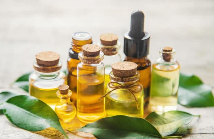 Olejki z drzewa herbacianego