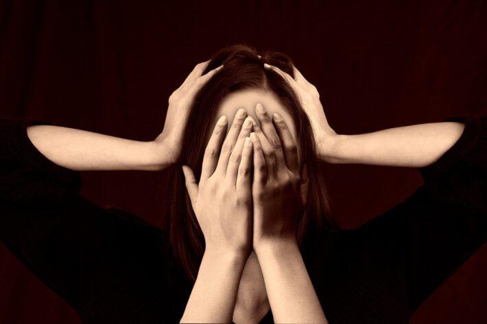 Kobieta z zaburzeniami psychicznymi